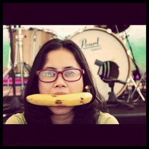 banana smile by John Navid