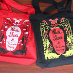 NEW!!! MERCHANDISE: FLOWERY TOTEBAG